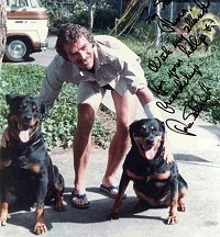 Tom Selleck and the Rotts
